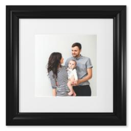 "Thumbnail for 8x8 Fine Art Print with 12x12 2"" Traditional Black Frame with Full Photo design 1"