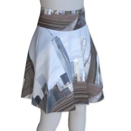 Thumbnail for Photo Skater Skirt - Fasheen (Women XL) with Full Photo design 4