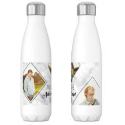 Thumbnail for 17oz Slim Water Bottle with Marble Adventure design 3