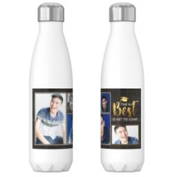 Thumbnail for 17oz Slim Water Bottle with The Best Is Coming design 3