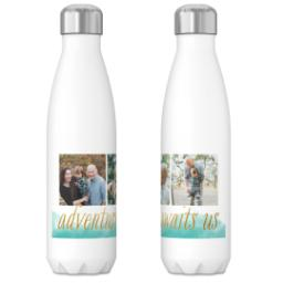 Thumbnail for 17oz Slim Water Bottle with Adventure Future design 3