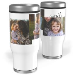Thumbnail for Stainless Steel Tumbler, 13oz with Let Me See You Smile design 1