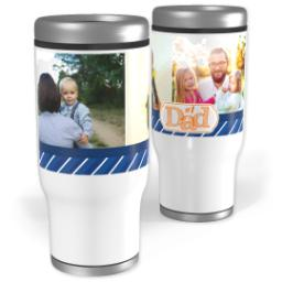 Thumbnail for Stainless Steel Tumbler, 13oz with Number 1 Dad design 1