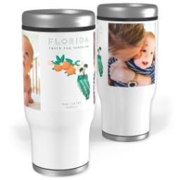 Thumbnail for Stainless Steel Tumbler, 13oz with Scenic View Florida design 1