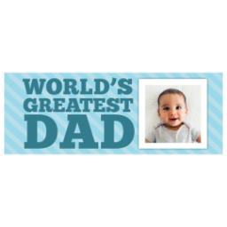 Thumbnail for Stainless Steel Tumbler, 13oz with World's Greatest Dad design 2